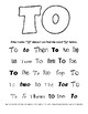 Color and Search Fry's Sight Words List 1