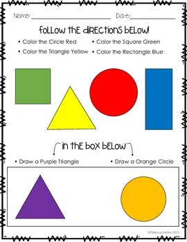 Color and Shape Assessment