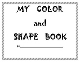 Color and Shape Book