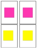 Color and Shape Flash Cards