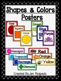 Color and Shape Posters-Polka Dots