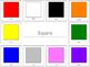 Color and Shape Sort Printable
