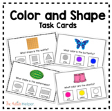 Color and Shape Task Cards