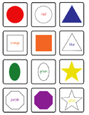 Color and Shapes Memory Game