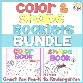 photograph relating to Color by Shape Printable identify Colour and Styles Printable Worksheet Booklets