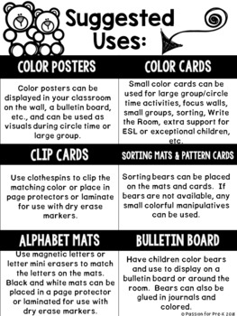Color and Sorting Math Pack for Pre-K, Preschool, and Kindergarten