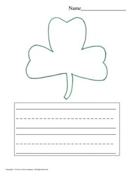 ELA Morning Work {Bell Ringers} Writing Prompts Color and Write