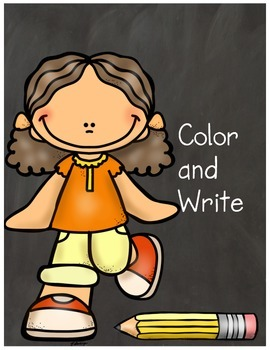 Color and Write
