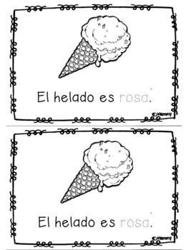 Color books in spanish/ Libros de colores