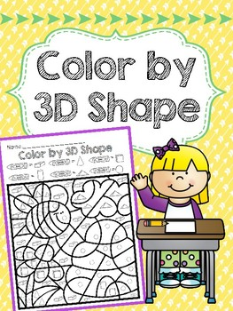 Color by 3D Shapes