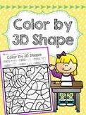Color by 3D Shapes