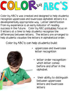 Color by ABC's Season Bundle (Growing)