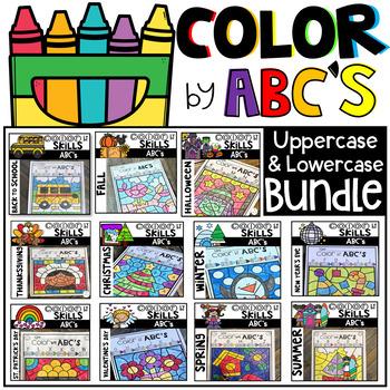 Color by Code ABC's Season Bundle
