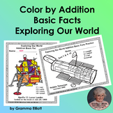 Color by Addition Basic Facts Exploring Our World Theme
