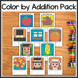 Color by Addition – Hidden Picture #01-10 Thankgiving/Autu