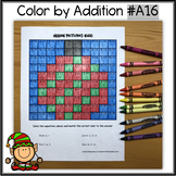 Color by Addition - Hidden Picture - Ornament