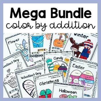 Color by Addition MEGA Bundle