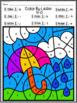 Color by Alphabet- Spring Letter Recognition Worksheets
