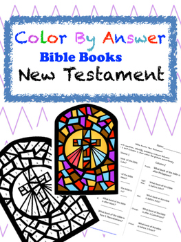 Color by Answer Bible Books: New Testament