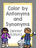 Color by Antonyms and Synonyms: Winter Edition