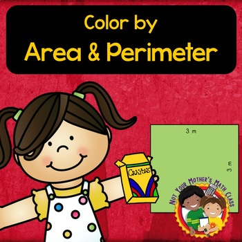 Color By Area And Perimeter By Not Your Mother S Math Class Tpt