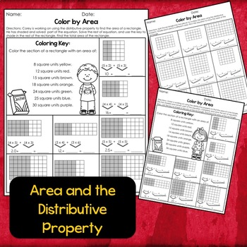 Color by Area and Perimeter