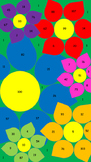 Color by Atomic Number (Flowers)