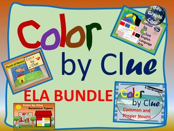 Color by Clue - ELA Bundle