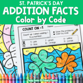 St. Patrick's Day | Color-by-Code Addition | Color by Number