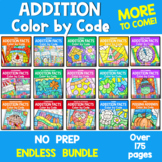 Color by Code Addition ENDLESS BUNDLE