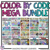 Color by Number Color by Sound Color by Sum Worksheets and