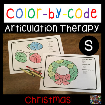 Color by Code Articulation S Christmas