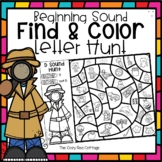 Color by Code-Beginning Letter Sound