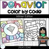 Color by Code | Behavior | Winter Edition