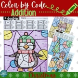Color by Code: CHRISTMAS Addition
