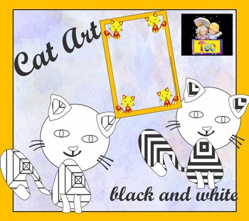 Color by Code - Cat - Coloring Activities