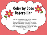 Color by Code Caterpillar