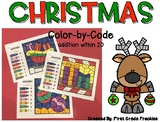 Color-by-Code Christmas Addition