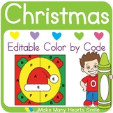 Color by Code: Christmas Quilt Pictures