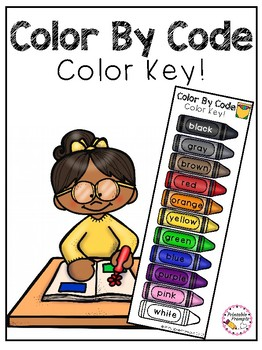 Color by Code- Color Key