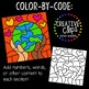 Color by Code: Earth Day Clipart {Creative Clips Clipart}