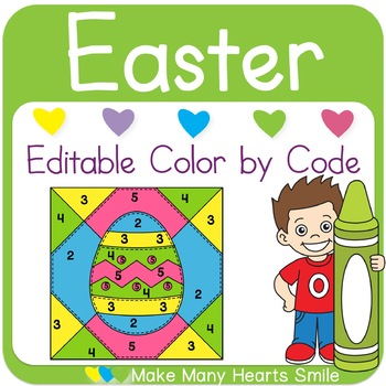 Color by Code: Easter Quilt Pictures