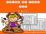 Color by Code Fall Activities