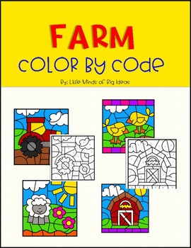 Color by Code: Farm Edition