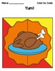 Color by Code .... Grammar Mosaic (Parts of Speech) Thanksgiving