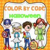 Color by Code - Halloween