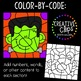 Color by Code: Halloween Clipart {Creative Clips Clipart}