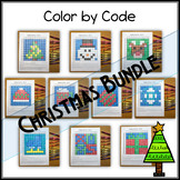 Color by Code - Hidden Picture – Christmas Bundle