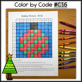 Color by Code - Hidden Picture #C16 – Ornament
