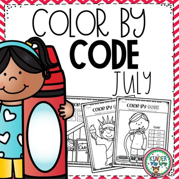 Color by Code July